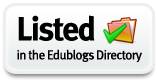 Listed in the EduBlogs Directory